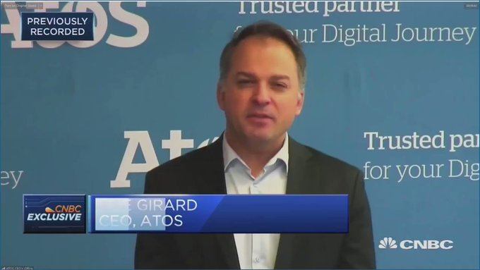 Our CEO @ElieGirard presents #AtosOneCloud on CNBC: