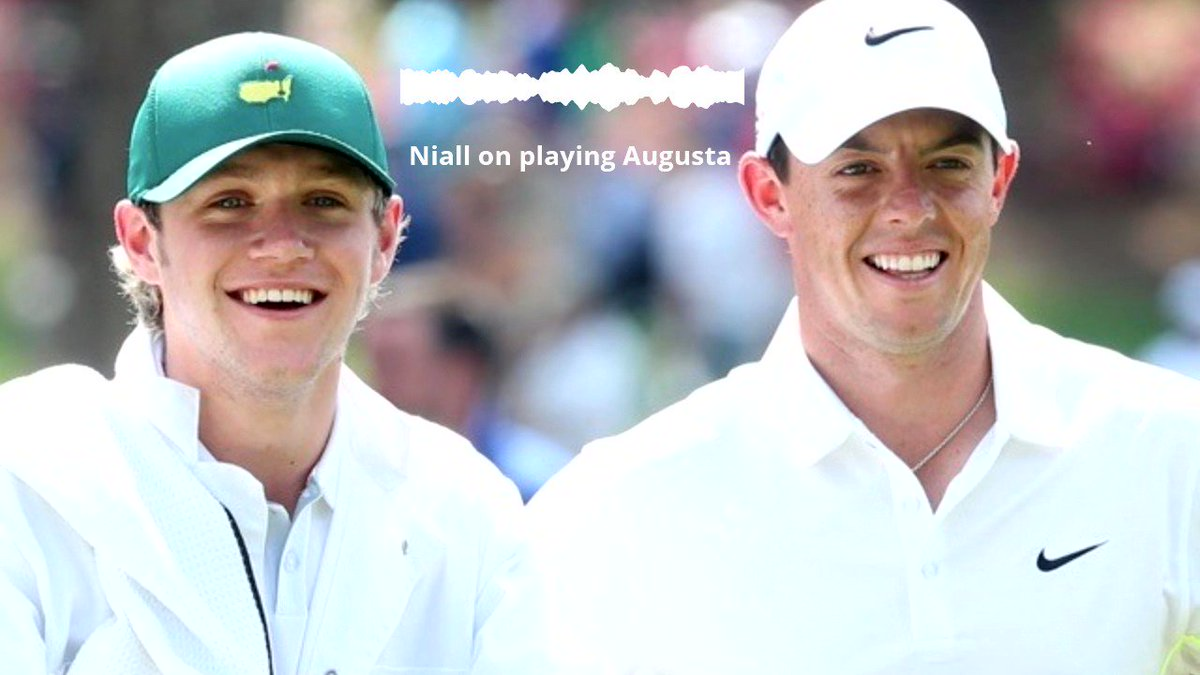 Wonder what it's like to play Augusta National? Let @NiallOfficial tell you. Which great @TheMasters shots would you remember and re-enact? @modestgolf @MotocaddyGolf   Full ep on Apple:   Spotify:   Google: