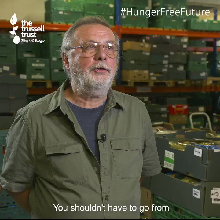 John's right - none of us should be forced to #foodbanks or worrying about whether we can afford to put food on the table. Want to take action to create a #HungerFreeFuture? Click here & sign up to add your voice to call for change >