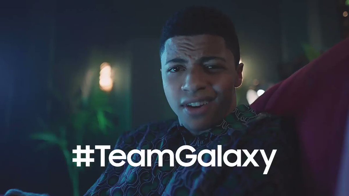 New vid just dropped starring yours truly and the @samsungmobile #TeamGalaxy homies @thegreatkhalid and Millie Bobby Brown. We're making our own #HouseRules now! LET'S GO BABY! #SamsungPartner