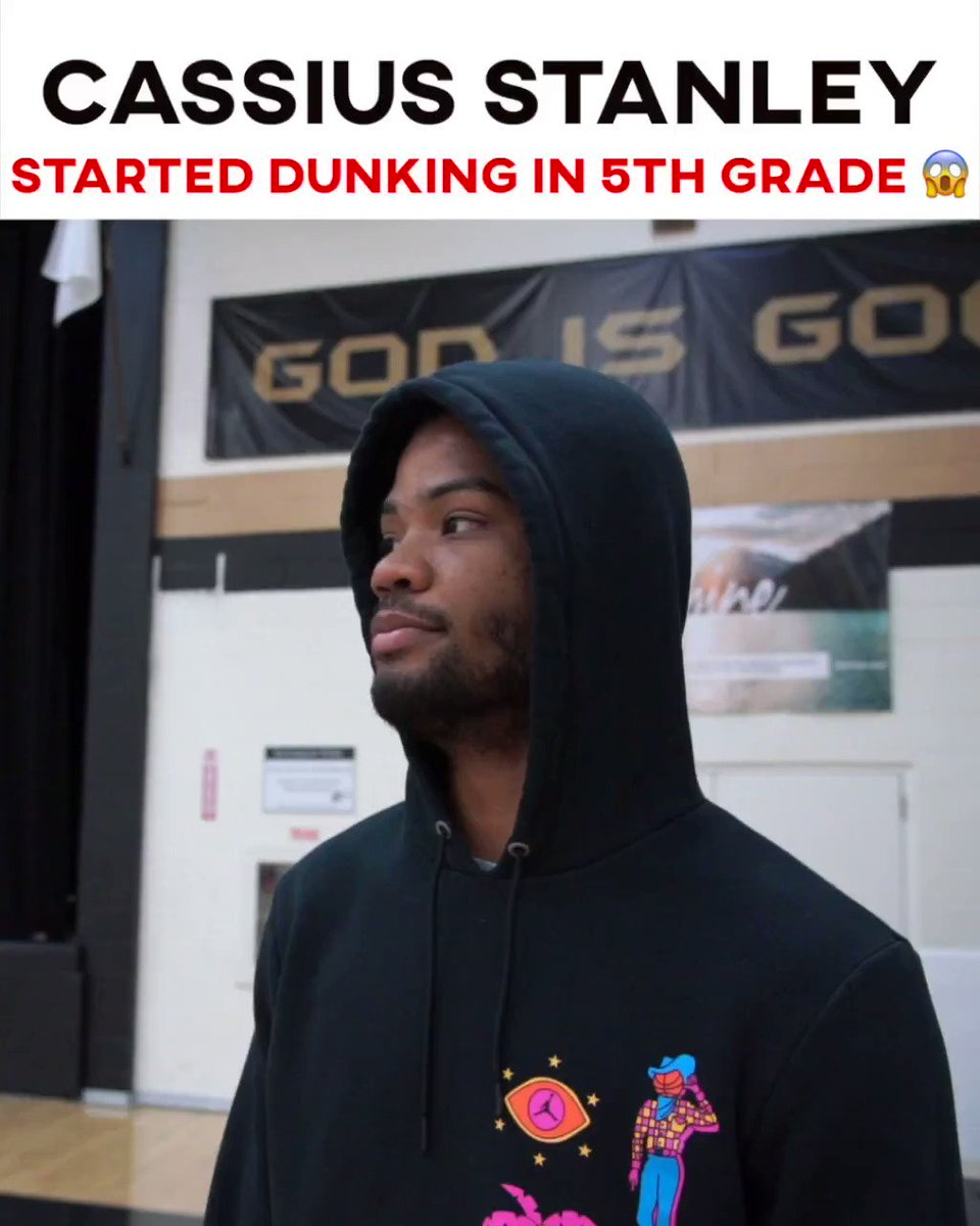 NBA Draft Prospect Cassius Stanley started dunking in the 5th grade 😳 his athleticism is crazy with @AthleticGaines and @travellegaines 🤯 @cassius_stanley