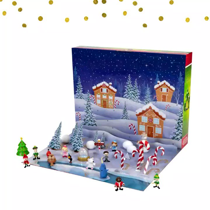 It's almost time to break out your #holiday advent calendars! Who's ready to see what our #Elf calendar has in store?🎅🏼🎁 Available @Walmart! #WalmartCollectibles https://t.co/uH84LB8ktH https://t.co/DHSPTIX7oX