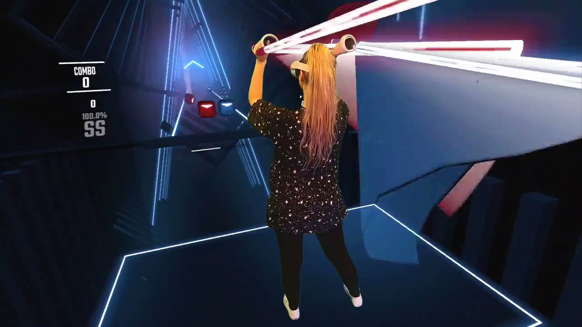NoisyButters - *NEW VIDEO* BEAT SABER MULTIPLAYER AAAA i got the new Quest 2 from @OculusGaming and decided to try out some wireless mixed reality too! More info here!  #OculusPartner   BEAT SABER W OCULUS QUEST 2! + WIRELESS MIXED REALITY!?