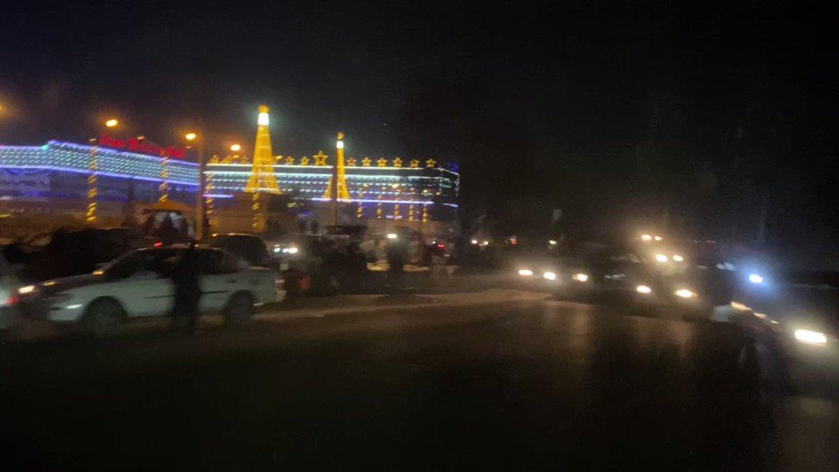 #Kabul streets, yesterday evening....