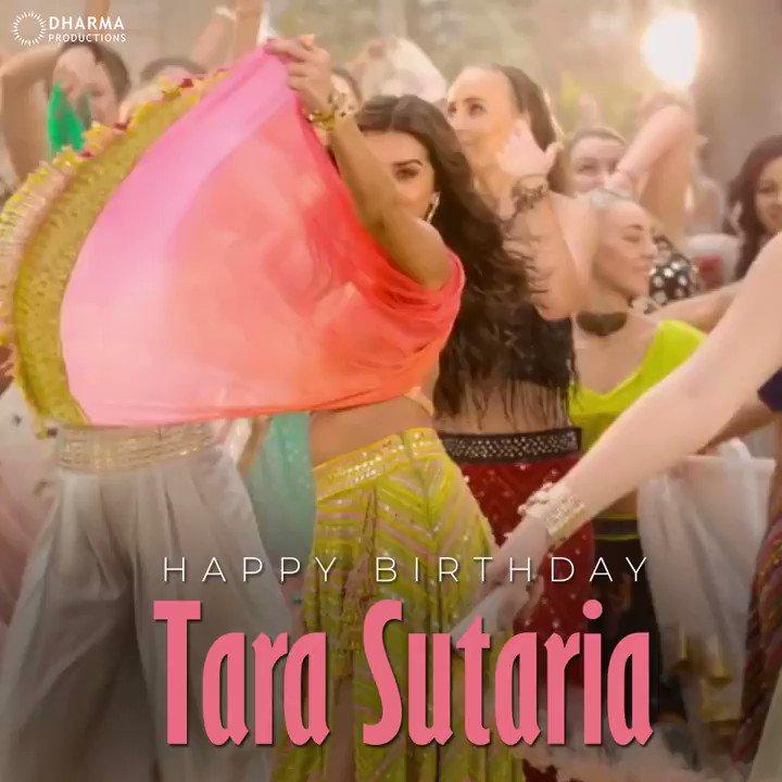 Wishing the brightest 'Tara' of the constellation a very happy birthday!💫 @TaraSutaria