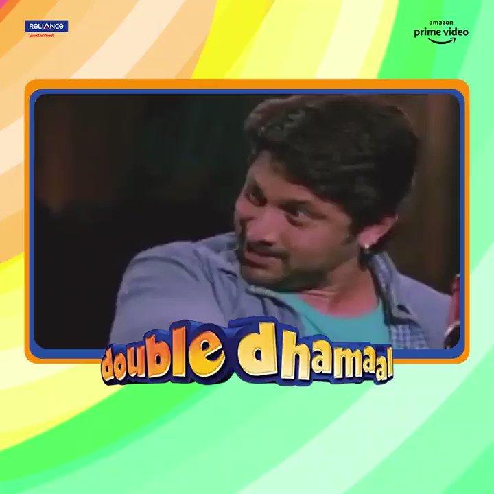 Madness ka doosra naam hai #DoubleDhamaal gang! Watch the quirky comedy on @PrimeVideoIN.     @duttsanjay @ArshadWarsi @Riteishd @KanganaTeam @jaavedjaaferi @AshishChowdhry @mallikasherawat #IndraKumar