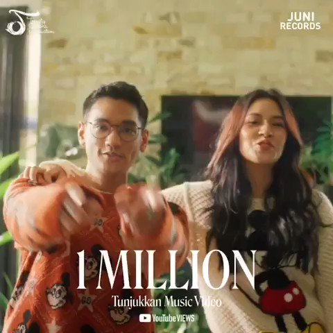1m views! Thank you guys..let's continue for watch this MV and againn thankk youuu untuk support dari kaliann 🥰 #AfganRaisaTunjukkan