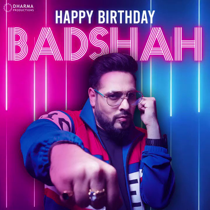 Wishing the man who brings the best beats and gets the party going! Happy birthday @Its_Badshah!🔥