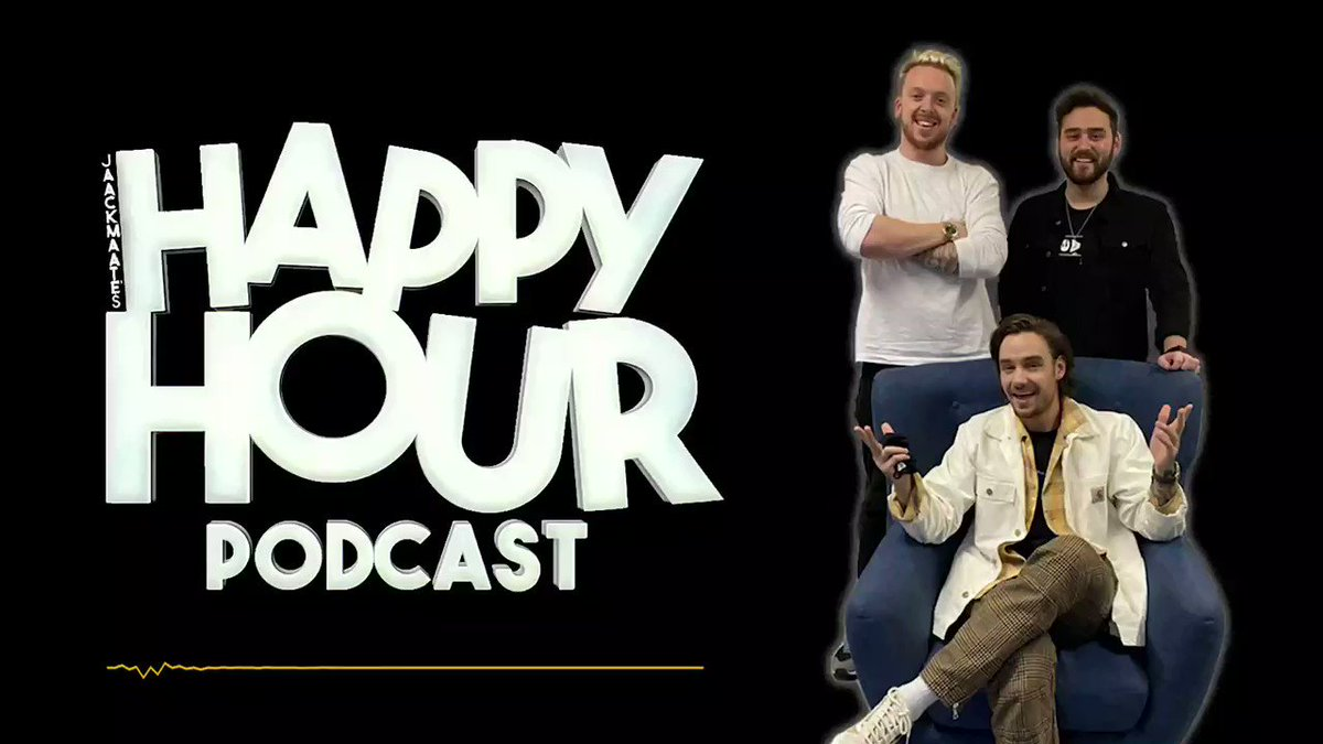 Genuinely loved recording this podcast with the lads at @JaacksHappyHour. We really did talk about anything and everything 😅... Have a listen now on @Spotify
