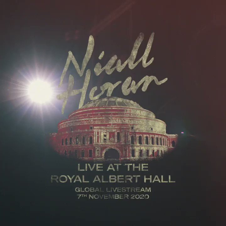 A special behind the scenes look with @NiallOfficial during his live stream at @RoyalAlbertHall for the #WeNeedCrew​ platform. We're proud to support and be a part of Niall and his crew's success!