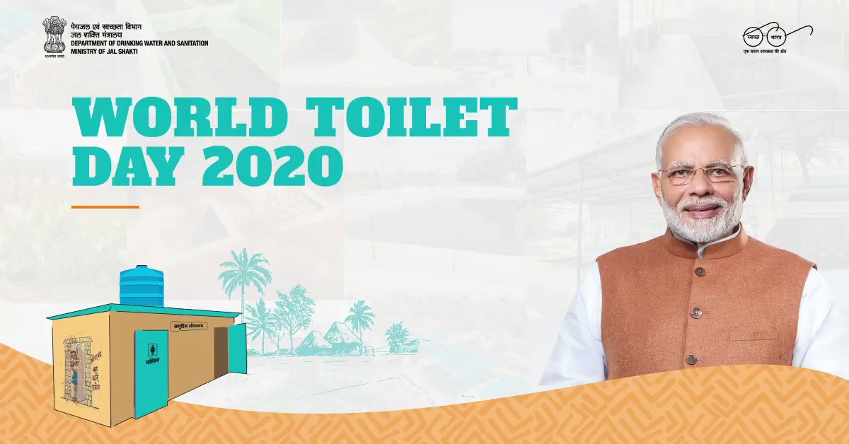 On the occasion of #WorldToiletDay, Shri @aamir_khan reiterates the importance of using #toilets. In times like this, it is imperative that we ensure #Swachhata around us. #Toilet4All   @PMOIndia @narendramodi @gssjodhpur @UPSingh_Jal @ArunBaroka @mygovindia