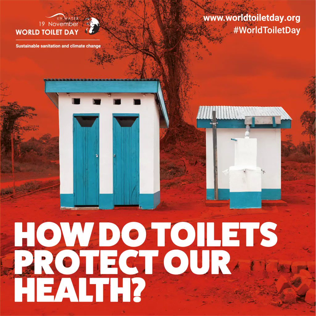 4.2 billion people live without safely managed sanitation.  Inclusive, sustainable sanitation systems not only protect people's health and drinking water, they can help form a strong defense against COVID-19 and future disease outbreaks.   #WorldToiletDay