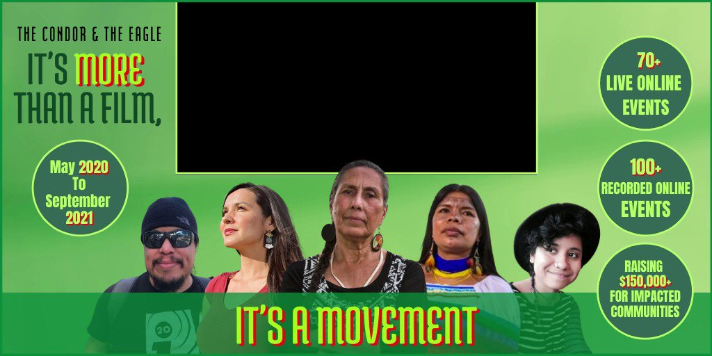 """By joining our events and impact campaign """"No More Sacrificed Communities"""", you are supporting effective movement-building towards powerful change and calls to action. Pick an event here and join the movement:"""