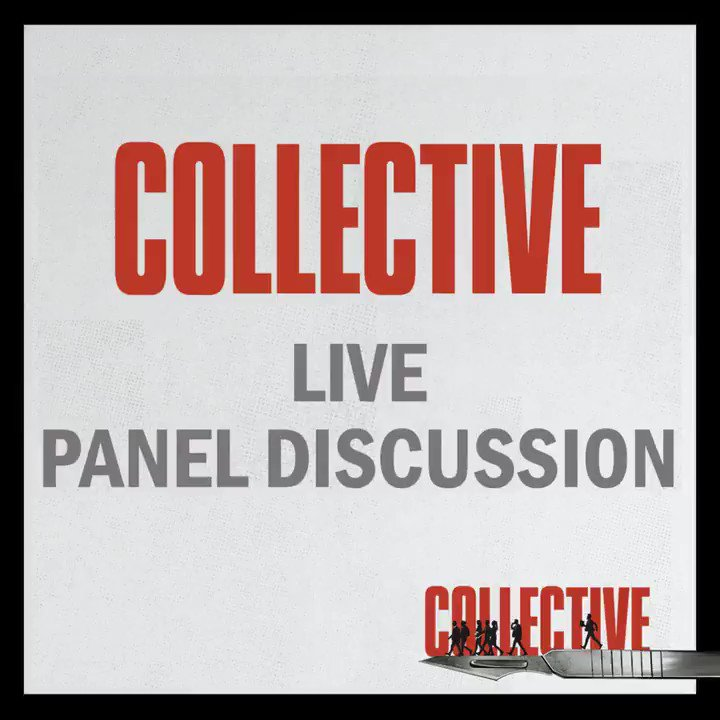 Just a few hours left before tonight's @RCILondon #CollectiveFilm Q&A with director @AlexanderNanau and journalist Catalin Tolontan, hosted by @article19org's @Sarah_M_Clarke!  Comment below with your questions for the panelists & tune in here at 18:30: