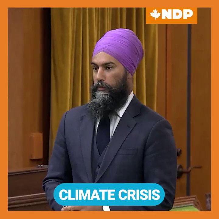 Despite COVID19, the climate crisis remains a threat and doing nothing will make things worse. Starting with Jack Layton in 2007, the NDP trailblazed the fight for climate accountability. But, Jack wouldn't want us to wait 10 years for real accountability.