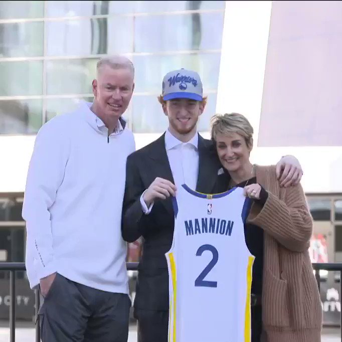 Replying to @warriors: #DubNation runs in the family.