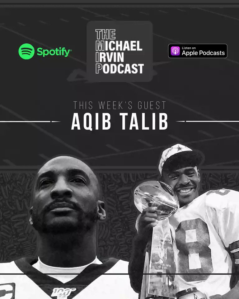 """Check out today's episode with my guy @AqibTalib21. We talk about how he would've defended against the """"Hail HOPKINS"""", & his Top 3 WRs & CBs in the @NFL today. I also did his podcast 'Call to the Booth'! Want to be in my podcast? CALL THE MIP HOTLINE! (213)-290-2514. Link in bio!"""