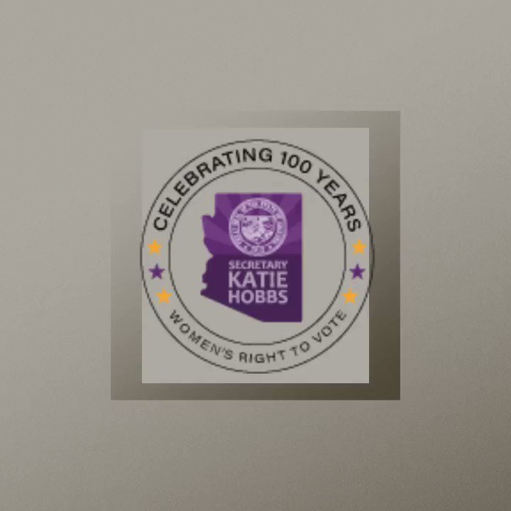 The Arizona Secretary of States office invites you to join us in commemorating the Suffrage Centennial.