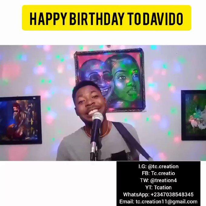 Happy birthday david adeleke aka OBO