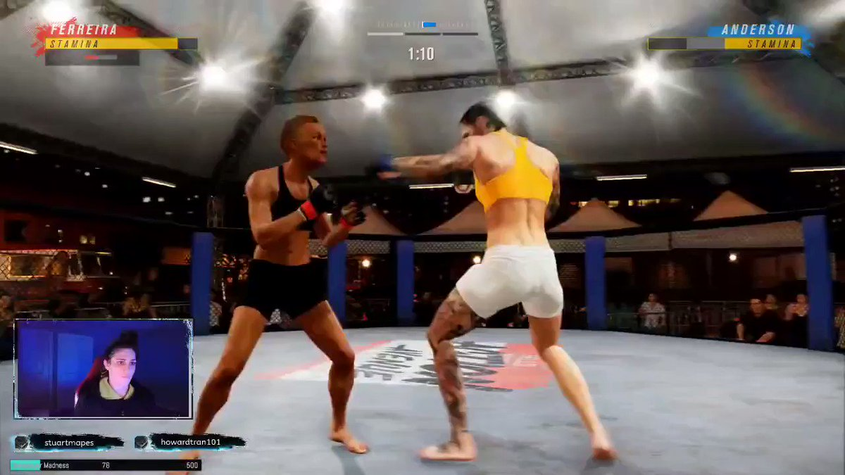 .This would have to be up there with one of the coolest things ever 🤩 #UFC4 @EASPORTSUFC @ufc https://t.co/EY4iZrX732