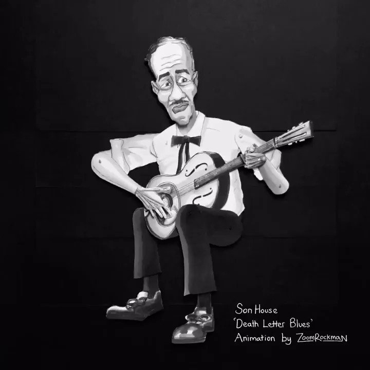Image for the Tweet beginning: Son House 'Death Letter Blues'