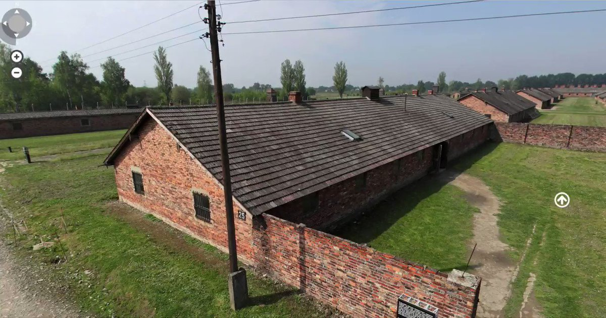 Block 25 at the female camp of #Auschwitz II-Birkenau was used to hold exhausted female prisoners classified during selections in the camp as unfit for work. They were later killed in gas chambers. #virtualtour Outside : panorama.auschwitz.org/tour2,7107,en.… Inside: panorama.auschwitz.org/tour2,7115,en.…