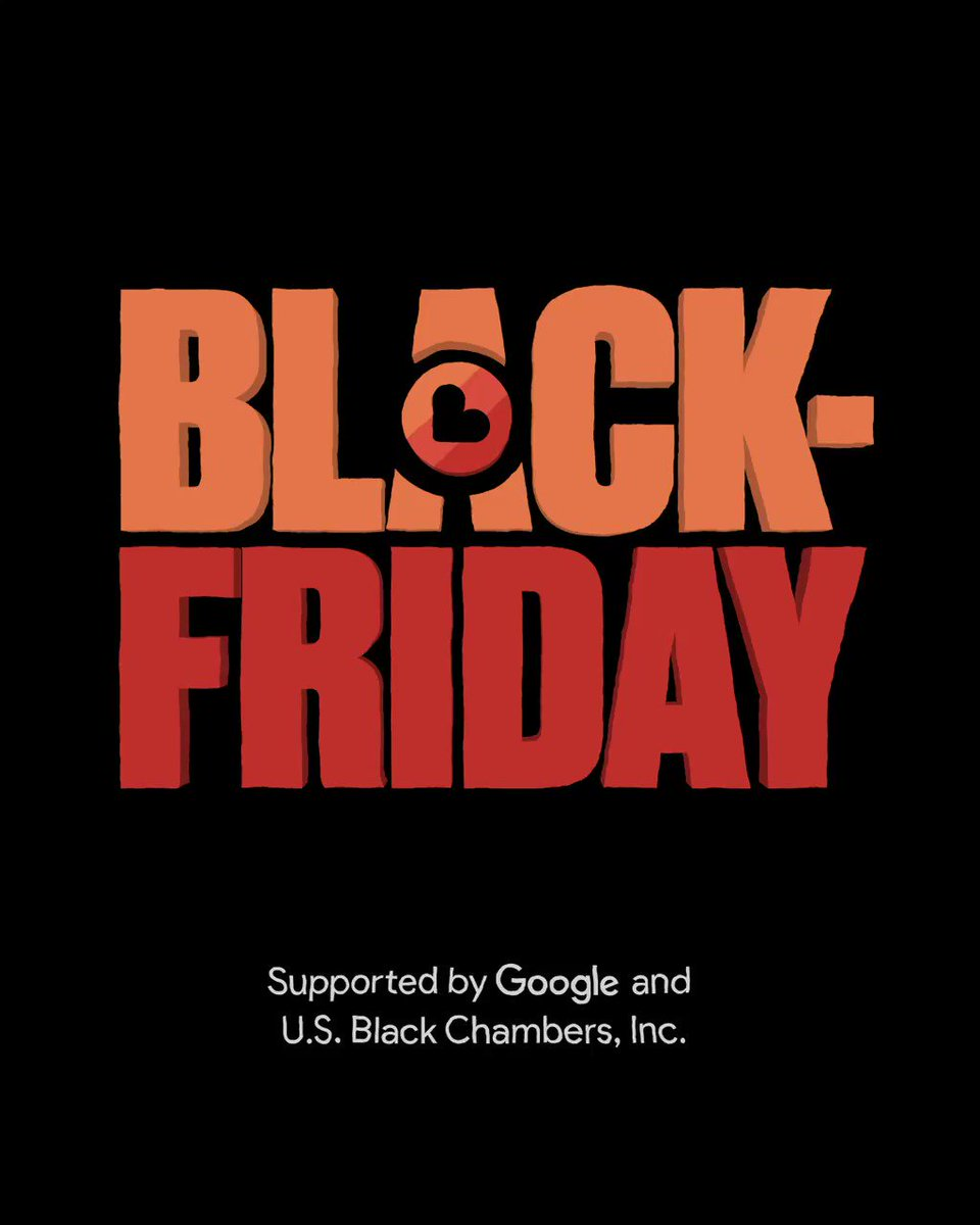 Dollars make change.  So, with @Google and the @usblackchambers, @BBHNewYork is helping to redirect spending dollars to #BlackOwnedBusiness on November 27th.  It starts here:   #BlackOwnedFriday