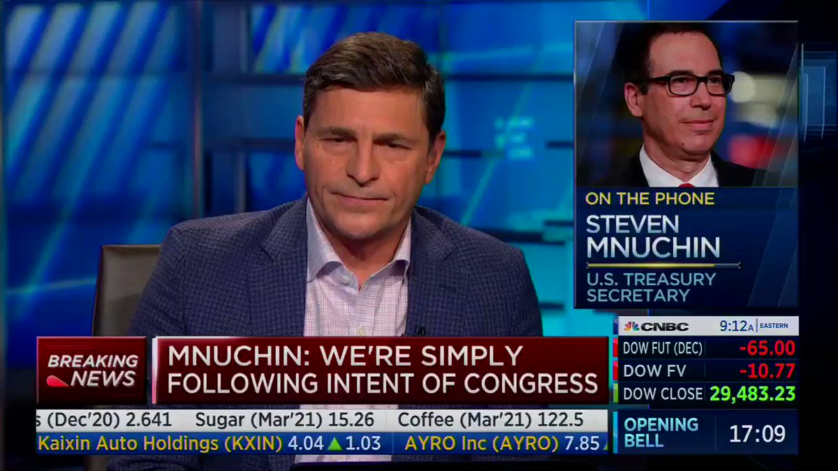 Mission Accomplished Mnuchin