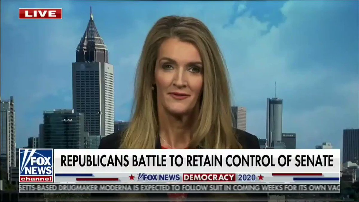 ".@KLoeffler highlights Georgia Democrat Senate candidate Raphael Warnock's past comments: ""he's a radical's radical"""