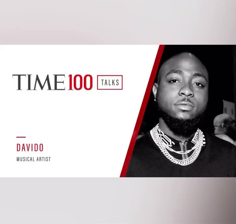 ENTERTAINMENT ~ Nigerian superstar, @davido in conversation  with #TIME100Talks on his new album #ABT, police brutality, navigating the entertainment industry in the pandemic and much more! See full video at    #GlaziaNow