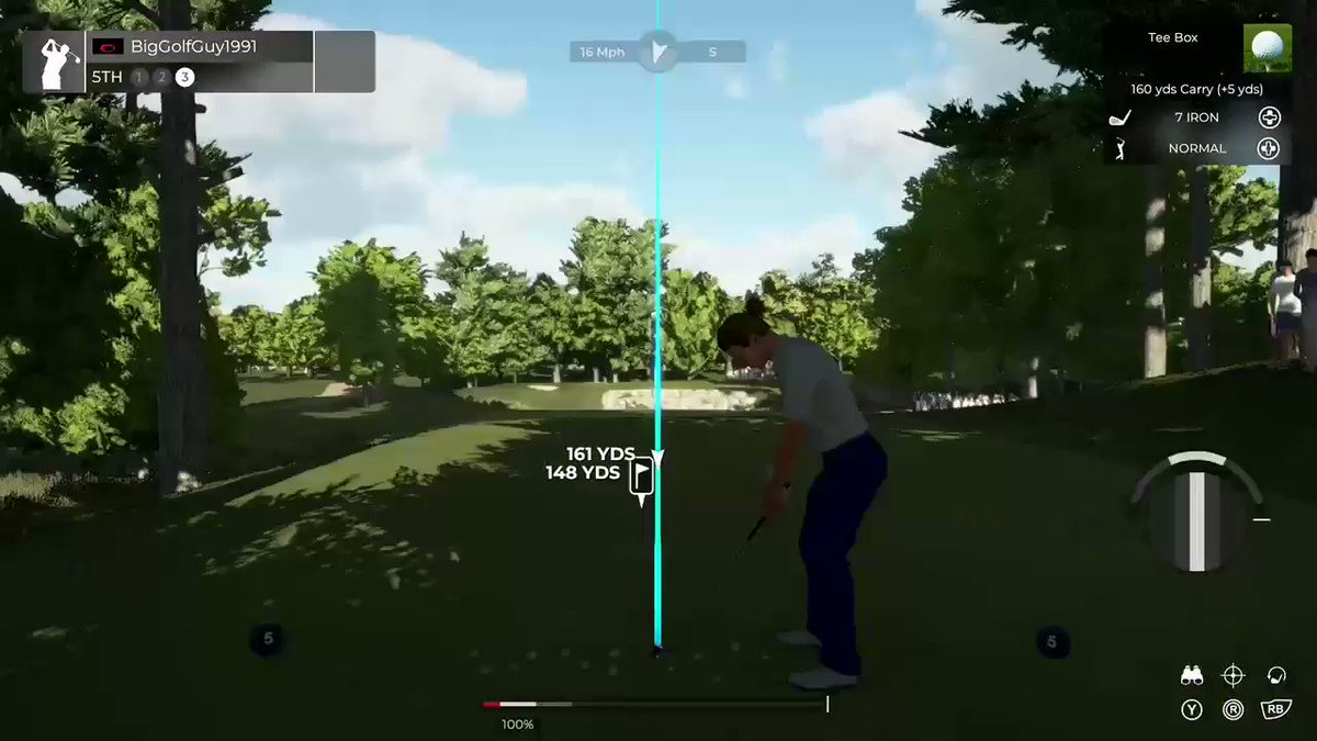 5 north is hard in real life and @PGATOUR2K 😂 https://t.co/0mpl4Ey139