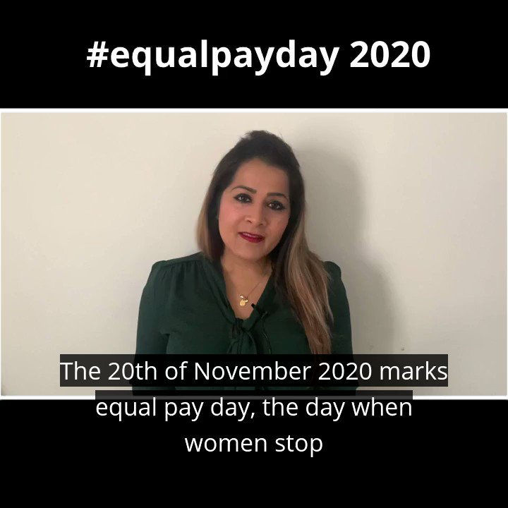 Today is #EqualPayDay, the day of the year when women effectively start working for free. We need urgent action to address inequality in the workplace @fawcettsociety @MedwayLabour @MedCoopParty