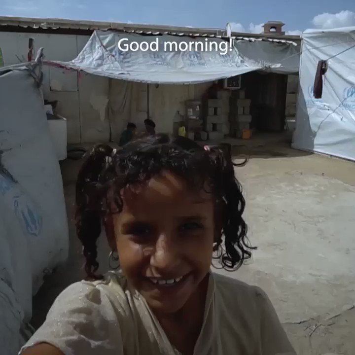 To celebrate #WorldChildrensDay I wanted to share another story from Yemen and how #covid19 has effected young people around the world.  @UNICEF_uk are working around the world to protect children like Muna. To find out more and donate please visit