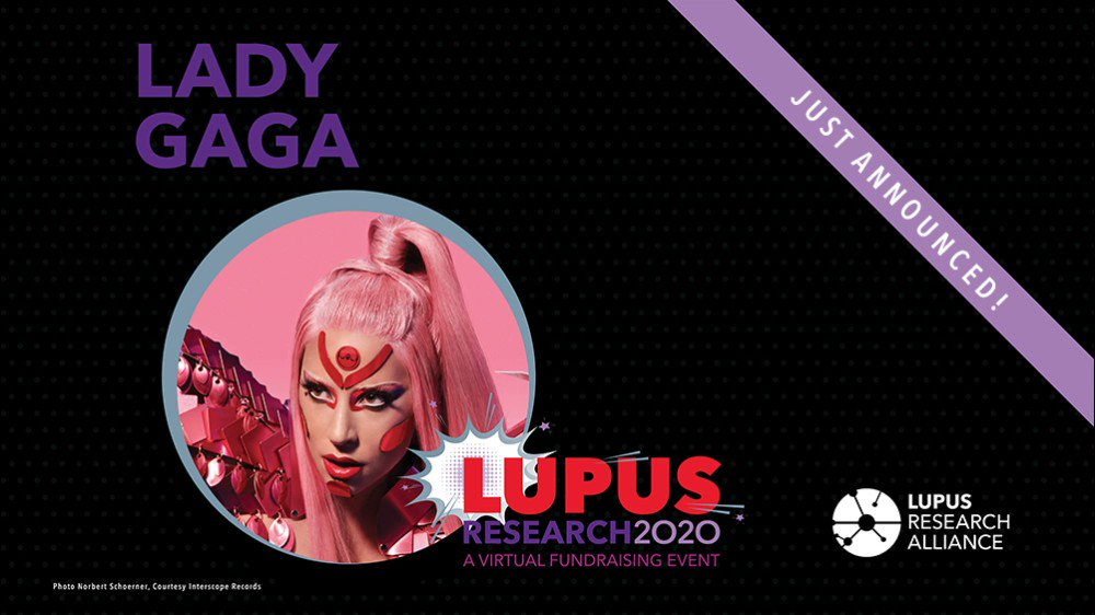Calling all little monsters & #lupuswarriors! Join us for a very special tribute by @ladygaga to her aunt Joanne who battled lupus, only at the LRA Lupus Research 2020 Virtual Fundraising Event!   Join us 11/23    #LupusResearchAlliance2020