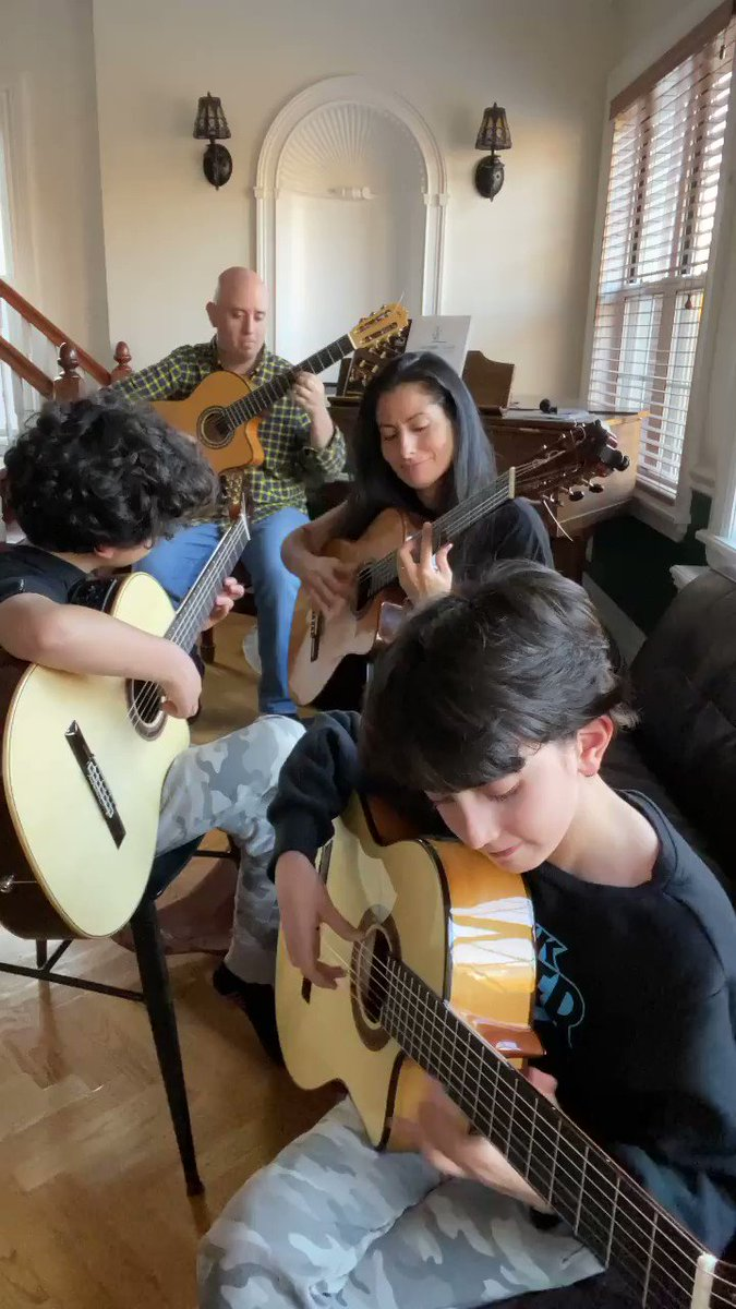 The family that plays together, slays together 🎸⚔️⚡️  More videos to get your weekend started, right this way 👉