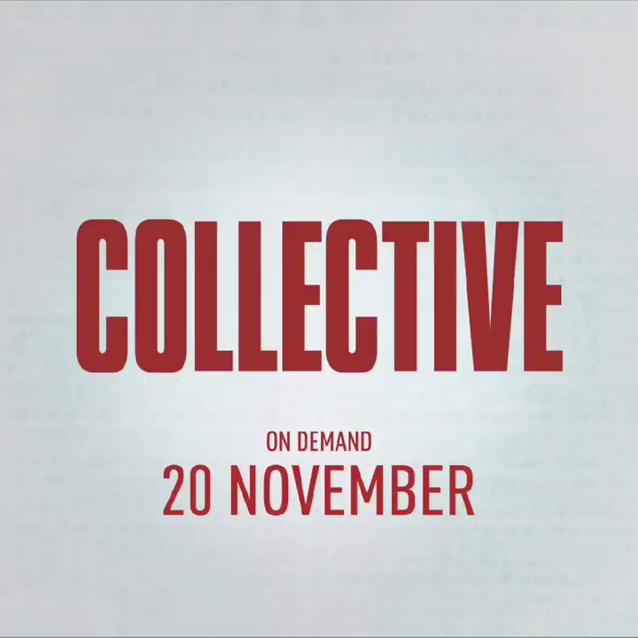 I love @Dogwoof and this film is another brilliant and well made piece of storytelling about the value of truth and the truth of our values.  #CollectiveFilm released on demand Friday 20th