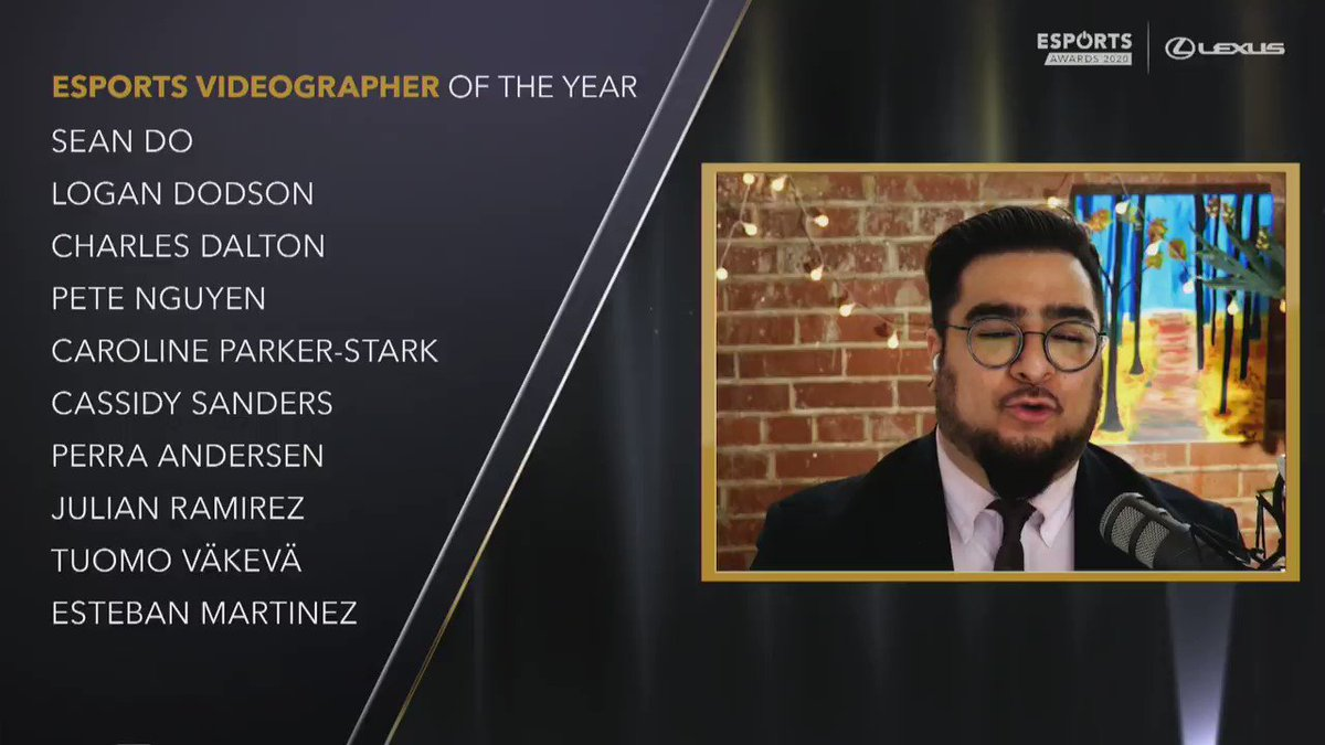 kyzui - Congratulations to our very own @LoganDodson on taking home Videographer of the Year at the @esportsawards!   #EsportsAwards