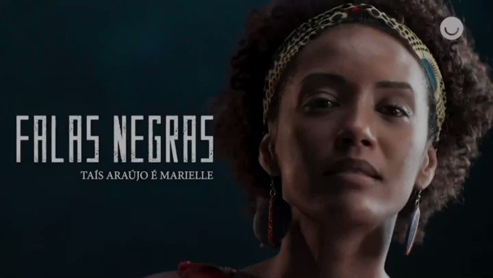 """Ainda canta o que permanece vivo. ✊🏽✊🏾✊🏿  O especial """"Falas Negras"""" estreia daqui a pouco, após a novela das 21h na @RedeGlobo. #FalasNegras"""