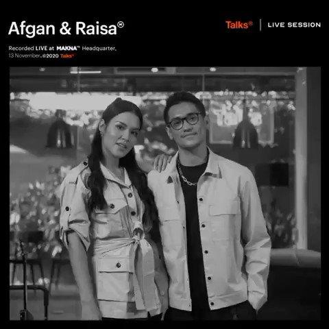 Makna Live Session @afgansyah_reza dan aku udah bisa kamu tonton di YouTube channel nya @maknatalks. Go check it out✨ #AfganRaisaTunjukkan