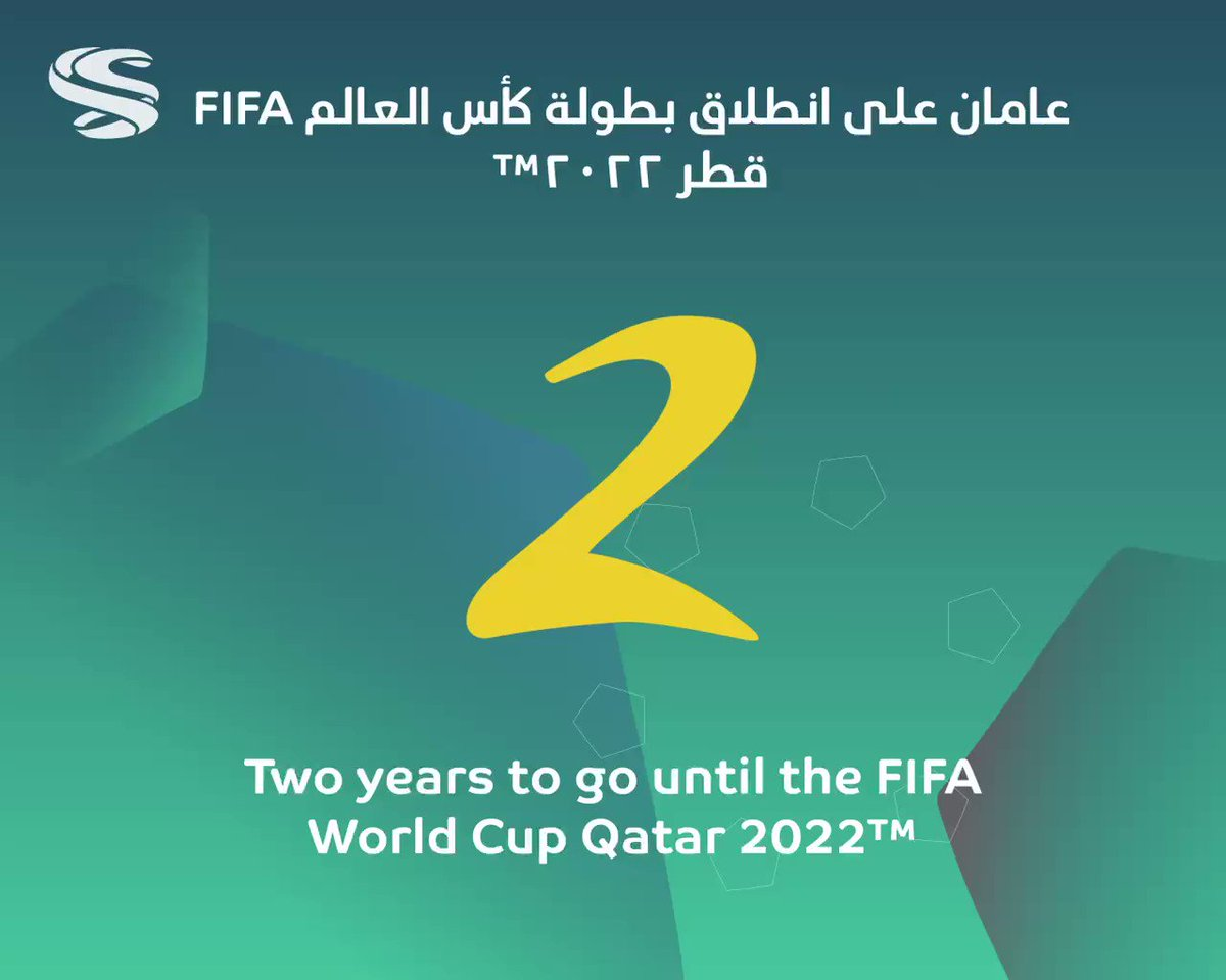 Discover more about #Qatar2022. Open your heart to a new culture and region when the @FIFAWorldCup heads to the Middle East and Arab world for the first time. #2YearsToGo⁣⁣⁣