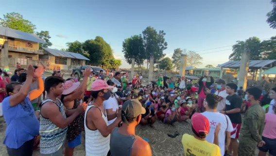 Madlang people and little ponies, ang mga donasyon niyo po ay naiabot na rin sa ating mga Kapamilya sa Barangay Goran, Amulung West, Cagayan.  Maraming maraming salamat po! #FUNDkabogableDonationDrive