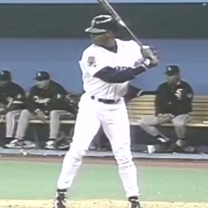 Happy Birthday to The Kid, Ken Griffey Jr.   That swing tho...