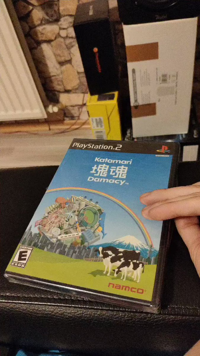 Let's breake the seal, cause games are ment to be played 🥳 #breaktheseal #ps2 #katamari