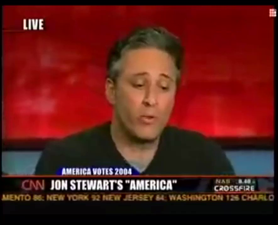 Never forget Jon Stewart DESTROYING @TuckerCarlson about being a partisan hack 14 YEARS AGO. 😂😂😂😂😂😂😂😂