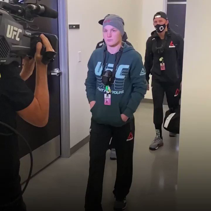 Our co-main is rollin' into the UFC APEX 💢  [ Get the #ESPNPlus PPV: https://t.co/5hyUH8apeD ] https://t.co/YeUdPF88da