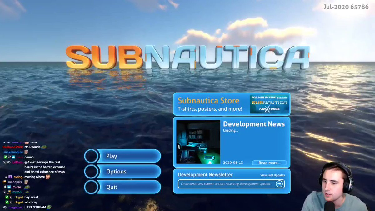 Avast - We're continuing the Subnautica playthrough tomorrow evening cause I need to beat the stupid ocean  You might watch me put together a table on stream too idk  If you want to catch up on the series we have a nice intro video up on my YT channel