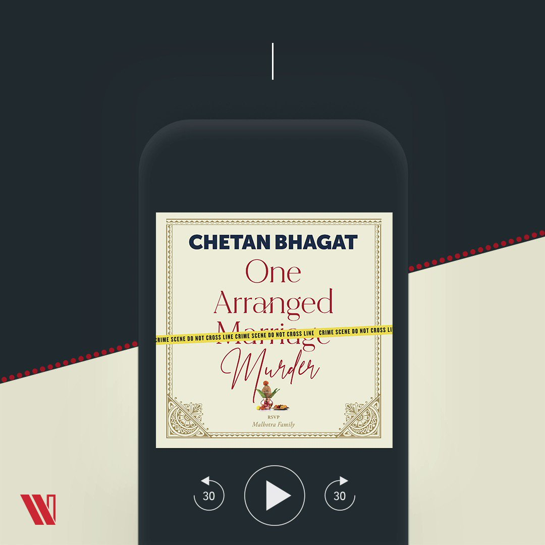 Listen to the journey of two best friends and amateur detectives in #OneArrangedMurder. Written by @chetan_bhagat and narrated by @HrishiKay, out on Audible -   @WestlandBooks