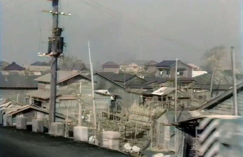 1940年代の大田区羽田弁天橋通りのストリートビュー@retoro_mode