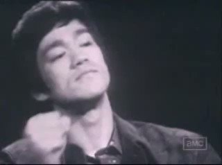 """Be water"".~ Bruce Lee"