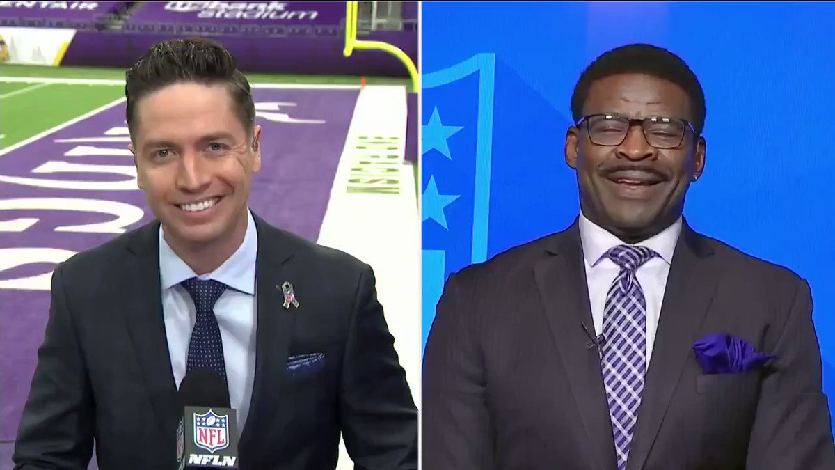 """""""Maybe this COVID fog that Cam says had him playing poorly... works opposite for Andy Dalton and makes him play BETTER""""  It's hard to believe, but @michaelirvin88 is kind of optimistic about the Cowboys again 😂"""